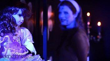 Dane Jones Haunted doll redhead craves cock in Halloween horror parody