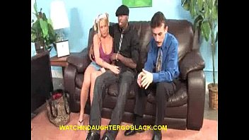 Teen Blonde Enjoys Black Therapy