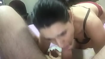 She ride my cock in a chair