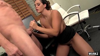 WANKZ- Alison Tyler Squeezes Cum On Her Giant Tits preview image