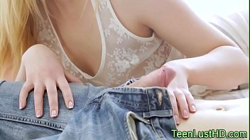 Small titted teen spunked