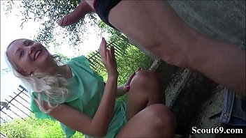 GERMAN TEEN HELENA FUCK OUTDOOR WITH USER FROM SCOUT69