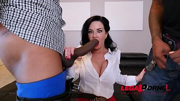 Real Estate Agent Veronica Avluv BBC Double Penetration AB025
