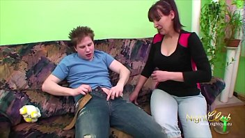 German - Stepmom fucking her Son
