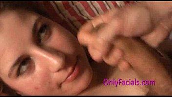 Sweet czech teen gets facial