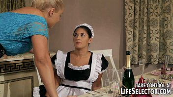 Dissapointing sex bad life Brandy smile punishes the stealing housemaid