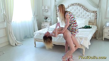 beauty real flexible contortion teen doll Image