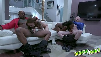 Horny daddies Swap and Taking stepdaughters Anne and Kendra Cole virginity