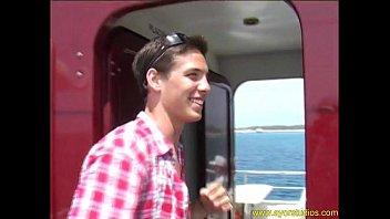 Solo Dominik On A Boat