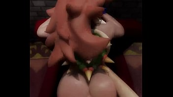 Bowsette Anal