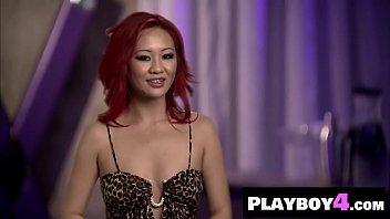 Hot Asian MILF talked about her nasty sex phantasies