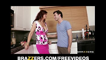 Image: HOT redhead MILF Syren De Mer fucks her son's best friend