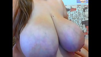 Big veiny breasts Huge veiny tits