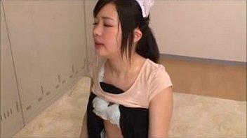 Asian Cute Maid Facialized