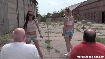 Face Slapping Competition - Lady Deluxe and Sweetbaby in Slaves' Crush Test