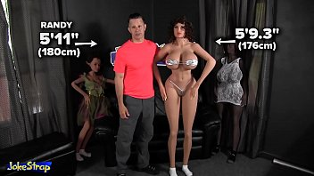 176cm world tallest sex doll funny review by Jokestrap | Go sydolls.com and subscribe, win free SY Sex Doll