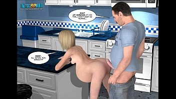 3d and comics and xxx 3d comic: the fall of innocence 17-18