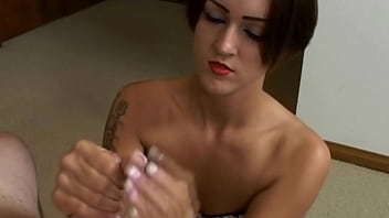 Sexy girl handjob
