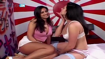 Two Horny Girlfriends Get Creampies By A BBC - Ava Ramon