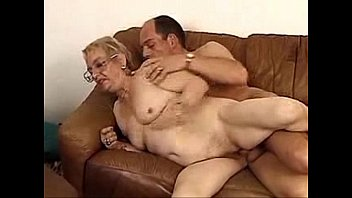 German granny and young lover hardcore pussyfucking granny