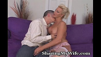Wife sex fantasy Older woman seduces young buck