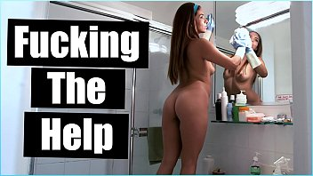 Naked in big brother house Bangbros - innocent latina maid isabella taylor strips down and fucks for more money