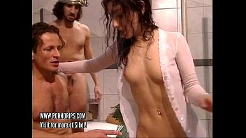 Vintage video games ac Sibel kekilli - wild sex in bathroom - actress from games of thrones