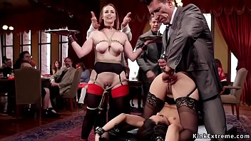 Anal And Dp Threesome At Bdsm Party