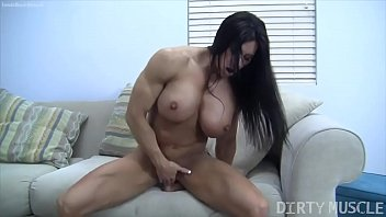Naked femal celebraties - Naked female bodybuilder angela salvagno fucks herself