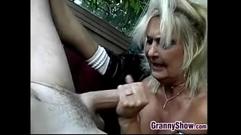 Chubby Blonde Grandmother Getting Fucked