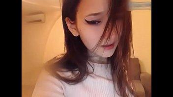 Gorgeous korean girl uses a vibrator to masturbate