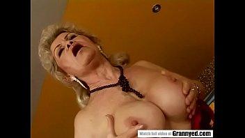Brava breast enhancement shaping system - Naugthy granny effie
