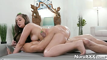 Oiled riding by Gia Paige