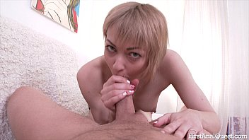 FirstAnalQuest.com - GIRLS FIRST ANAL SEX WITH A BIG DICK GUY MAKES HER SORE Preview