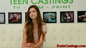 Casting teen screwed hard and fed with cum porno izle