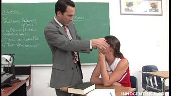 Cheerleader movie sexy - Cute cheerleader facialized by her professor