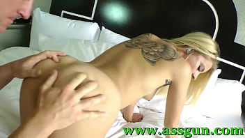 blond gets her ass fucked hard
