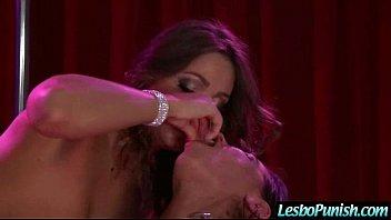 (abigail&brandy) Lesbian Girls Playing Hard In Punish Sex Action mov-06