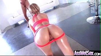 Hot Oiled Girl (Bibi Noel) With Huge Ass Enjoy Anal Sex vid-12