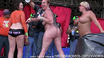 High resolution naked free - Hottest milf contest at the abate of iowa biker rally