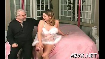 Sexy female fucked and stimulated in extreme bondage