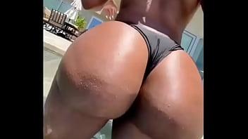 Phat black super booty