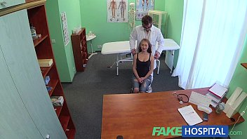 Lesbian video galery Fakehospital doctors cock drains sexy students depression during consultation