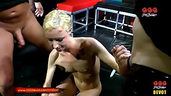 Piss and Cum for Skinny Blondie Lucie - GGG Devot Vorschaubild