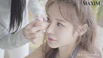 公众号【91报社】韩国美女模特性感写真,情趣丝袜内衣超诱惑现场