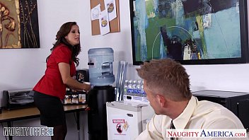 Busty francesca Brunette babe francesca lee gets nailed in the office
