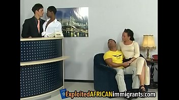 Passionate foursome with a nice ebony goddessotel-3-2