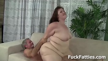 Fatty slut cum - Fat slut gets hammered with hard cock