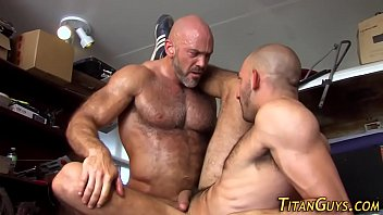 Is huge jackman gay Built hunk blows cum load