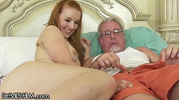 DevilsFilm Young Redhead Wants Her Step-Grandpa's Huge Dick Inside Her